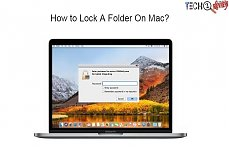 how to lock a folder on Mac