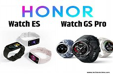 Honor Watch ES and Honor Watch GS Pro