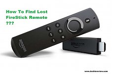 how to find lost firestick remote