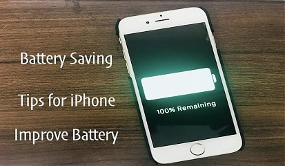 How To Save Battery On iPhone