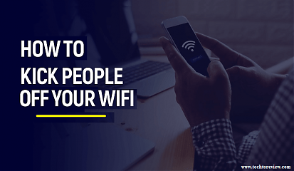 how to kick people off your wifi