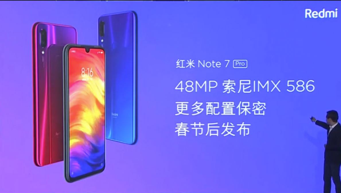 Redmi Note 7 Pro features