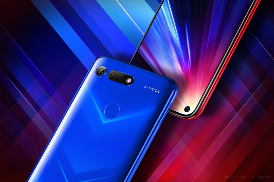 Honor view 20 the first Smartphone with a Punch Hole Display