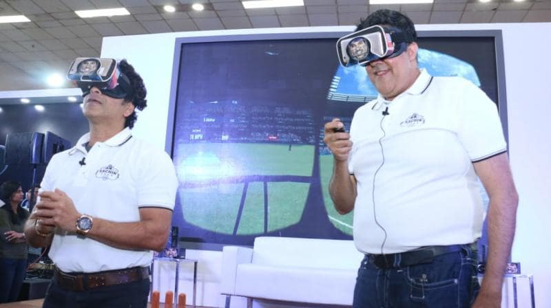 Sachin Tendulkar Launches Sachin Saga VR- The Reality Cricket Game