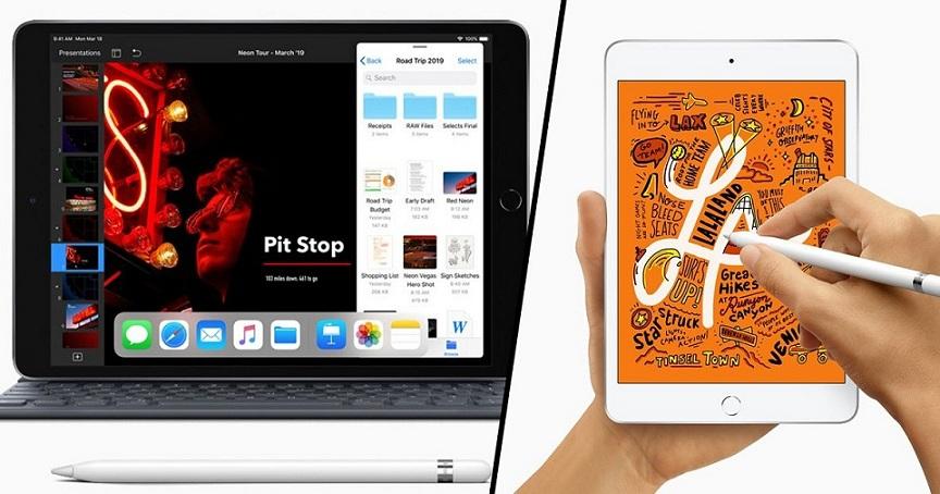 iPad mini and iPad air