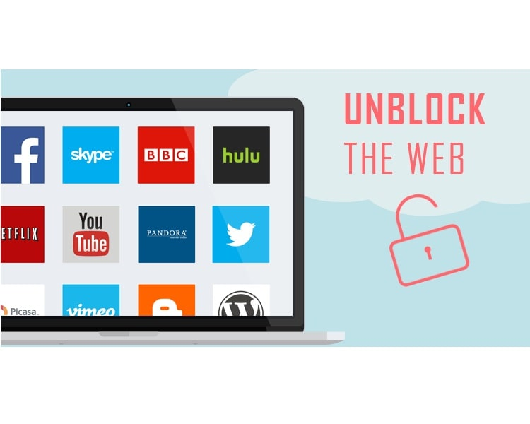 unblock blocked websites online