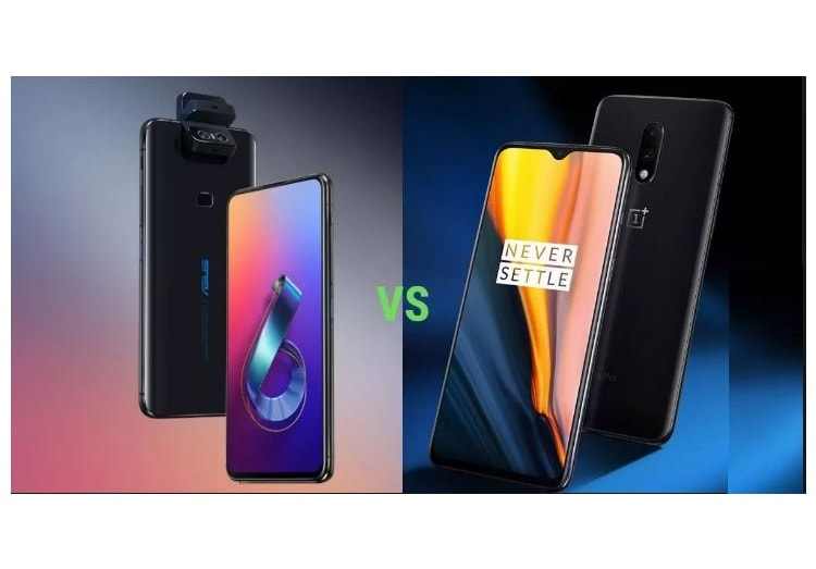 One Plus 7 Vs Asus 6z