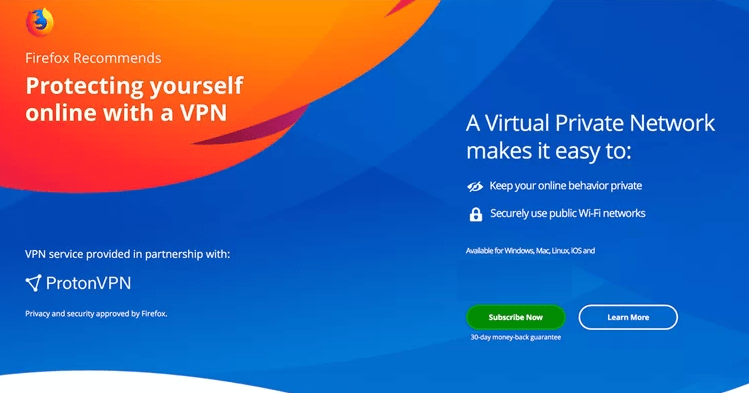 Browser VPN Service