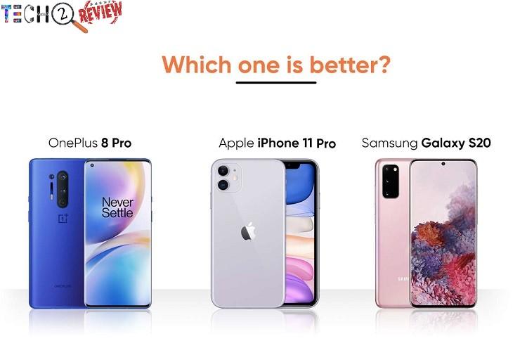 OnePlus 8 Pro vs Samsung Galaxy S20 vs iPhone 11 Pro