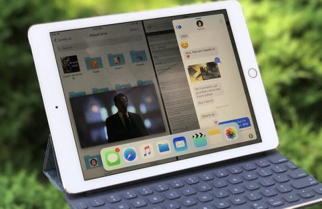 How to start a split screen on iPhone or iPad