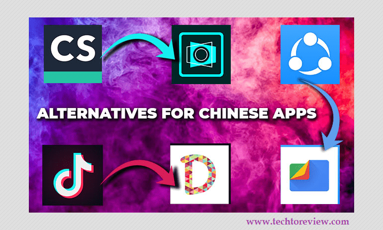 Alternatives to Banned Chinese Apps