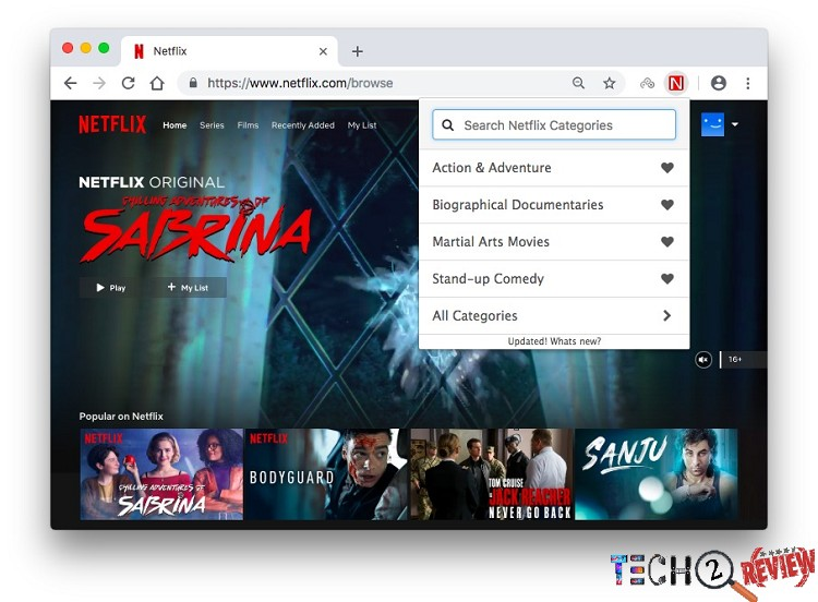how to browse all Netflix movies