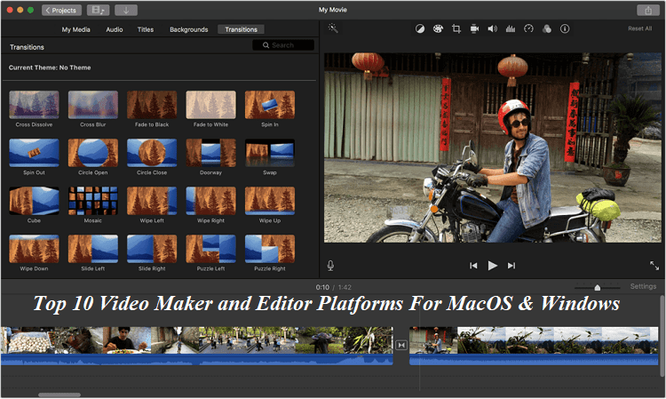 Video Maker and Editor Software