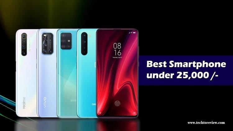 Best smartphone under 25000
