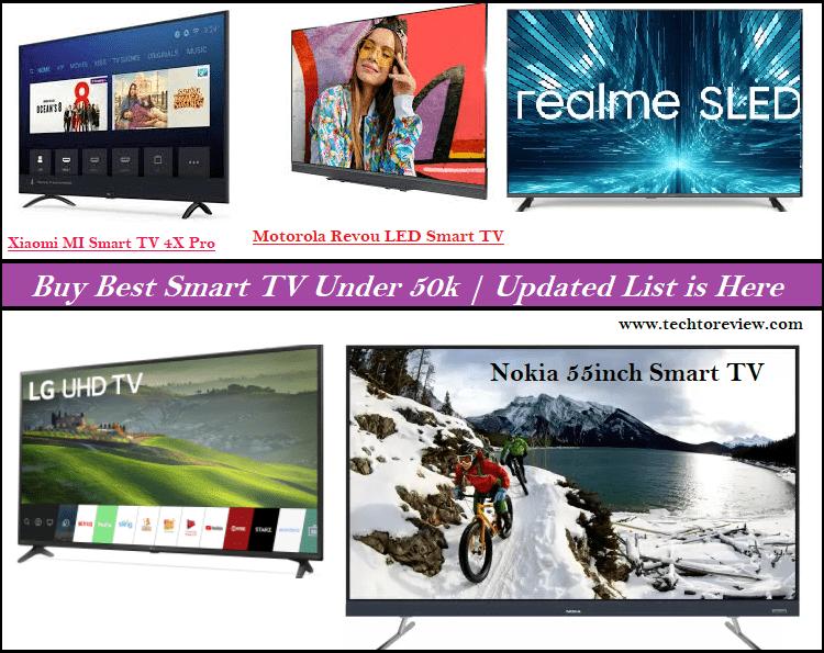 Best Smart TV Under 50k
