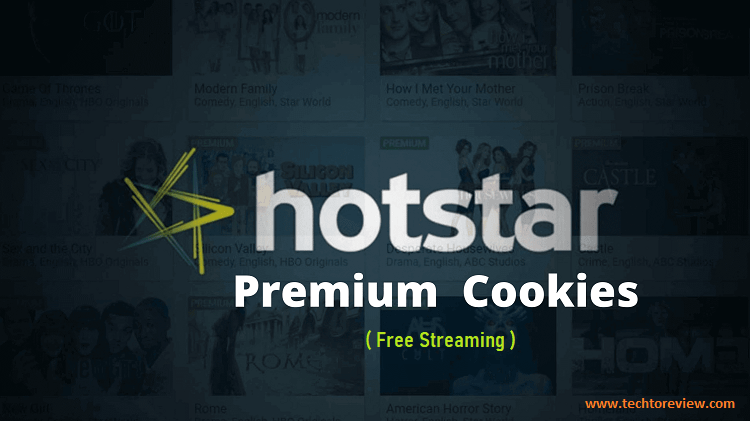 Hotstar Premium Account Cookies