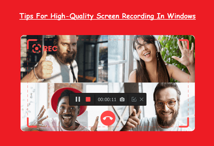 High-Quality Screen Recording In Windows