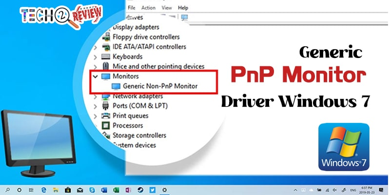 generic PnP monitor driver windows 7