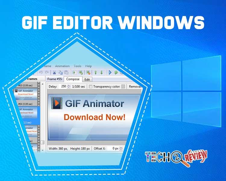 GIF editor windows