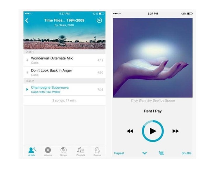 5 Best iphone Music Player Apps You Should Go For In 2019