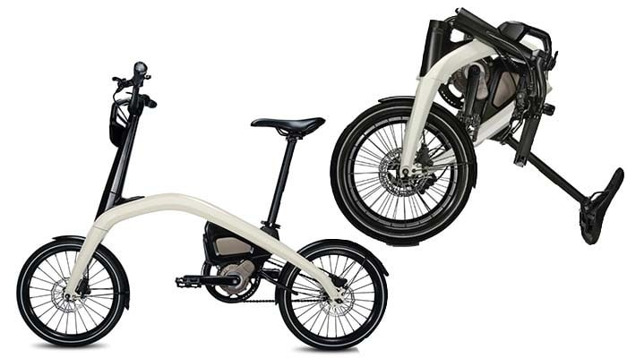 That The Gm Will Initially Offer Two Models One Is Folding And Other Compact Model Called Merge Electric Bike